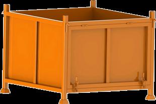 钢制物料箱002